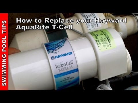 How to Replace your Hayward Aqua Rite Turbo Cell