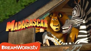 """Car Chase"" Clip   MADAGASCAR 3"