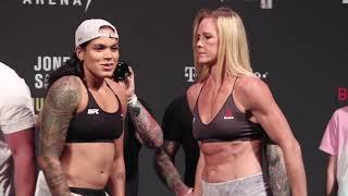 UFC 239 Ceremonial Weigh-Ins: Amanda Nunes vs. Holly Holm