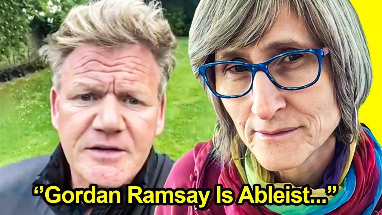 That Vegan Teacher Won't Leave Gordon Ramsay Alone