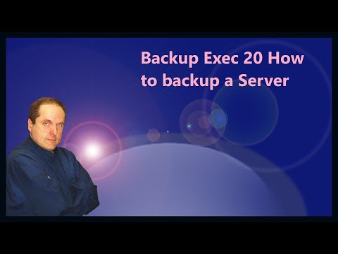 Backup Exec 20 How to backup a Server