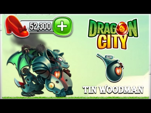 Dragon City - Tin Woodman Dragon [Fairytale Island - Walkthought Part 12]