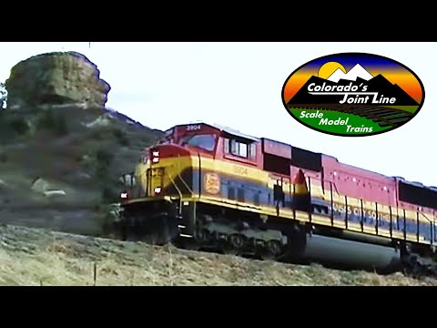 KCS Retro Belles & BNSF Military Train Action on Colorado's Joint Line