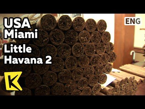【K】USA Travel-Miami[미국 여행-마이애미]리틀 하바나, 쿠바인들이 만드는 시가/Little Havana 2/Cigar Factory