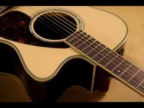 Yamaha FSX730SC Acoustic Electric Guitar Demo