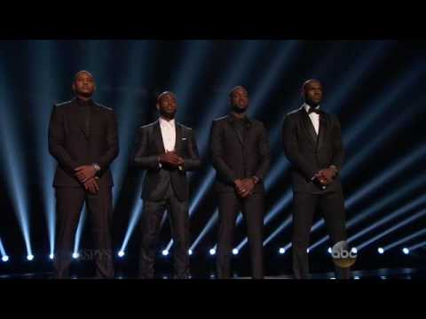 The ESPYS Intro About Police Brutality and The Responsibilities of Athletes