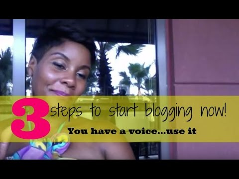 START BLOGGING TODAY WITH 3 SIMPLE TIPS! (HOW TO GET STARTED NOW)