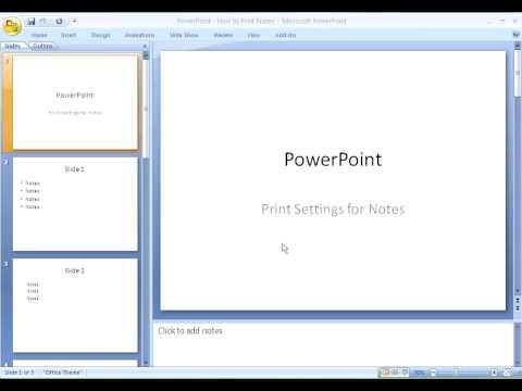 Printing PowerPoint Slides - University of Saskatchewan - Training Services