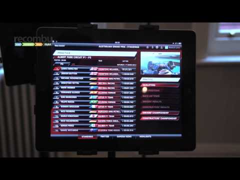 Sky Sports for iPad: F1 companion app summary