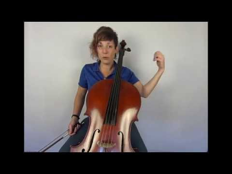 Orchestra Tutor - How to learn vibrato for the cello (Jen Mulhern)