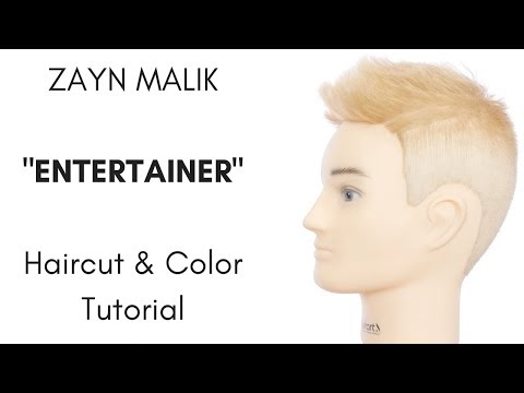 Zayn Malik Haircut & Haircolor Tutorial - Entertainer - TheSalonGuy