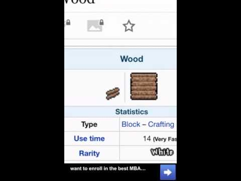 All Types Of Terraria Wood!!