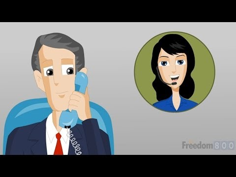 Call Forwarding using Toll Free Numbers