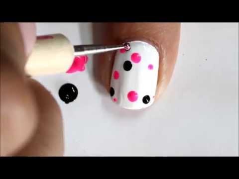 Polka Dot Nail Art: How to Do Dotted Nail Designs?