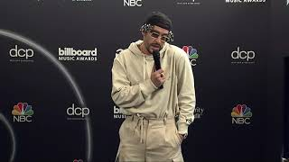 Bad Bunny Interview 2020 Billboard Music Awards (Spanish)