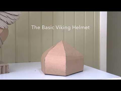 How to make a Basic Viking Helmet