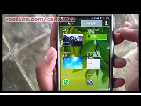 Samsung Galaxy S4 : How to get weather (Android Kitkat)