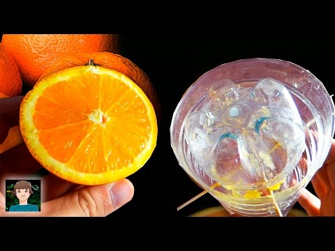 How to make a homemade Orange Juicer