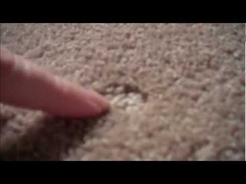 HOW TO REMOVE CARPET DENTS LEFT BY FURNITURE