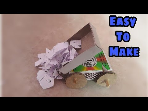 How To Make Dumping Truck With Matchbox