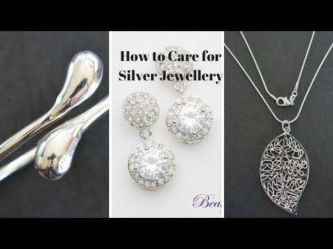How to care for Jewellery - silver