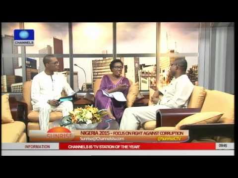 Sunrise Focuses On The Fight Against Corruption In Nigeria Pt 3