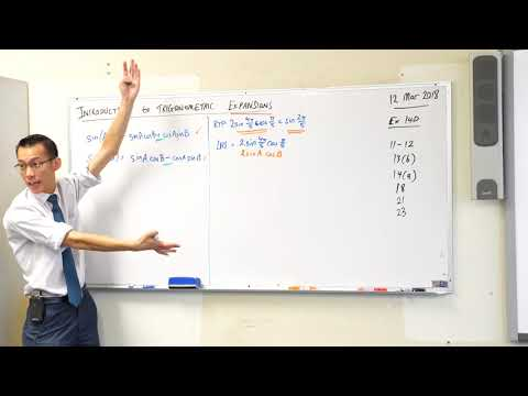 Introduction to Trigonometric Expansions (3 of 3: Using them to prove identities)