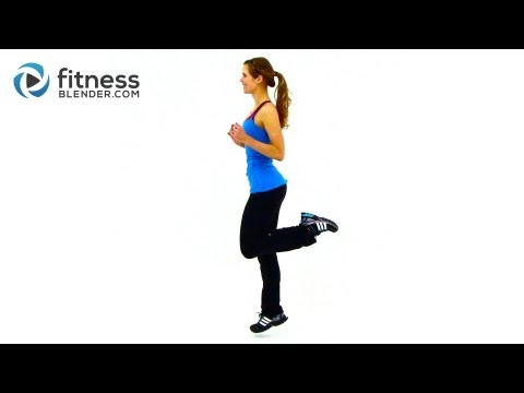 HIIT Workout for Fat Loss - FitnessBlender.com's At Home HIIT Workout Program for Weight Loss