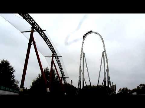 Thorpe Park - Stealth - OMG!! so fast!!