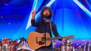 Download Britain's Got Talent 2018 Micky P Kerr Hilarious Comedic Musician Full Audition S12E06 Video