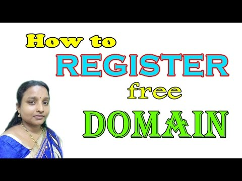 How to Register Free Domain for Website in Tamil Latest 2017