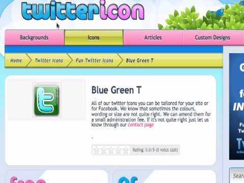 Twitter Tutorial- Add Twitter Icon to Your Website or Email