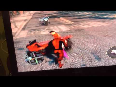 How to make dead pool in Saints row 3