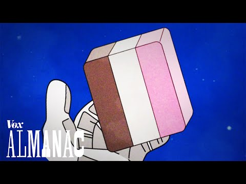 Astronaut ice cream is a lie