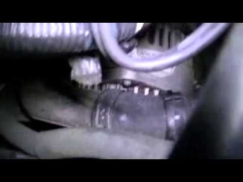 Serpentine/Drive belt adjustment on 2004 Nissan Maxima