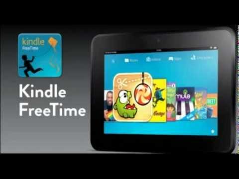 Kindle Fire FreeTime genius Parental Controls Blue Screen and Multiple Profiles