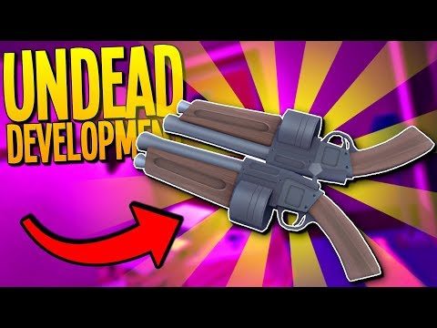 NEW UPDATE! Repairing Our Base & Building New Weapons - Undead Development Gameplay - VR HTC Vive