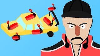 Zombey will ein Auto explodieren lassen.