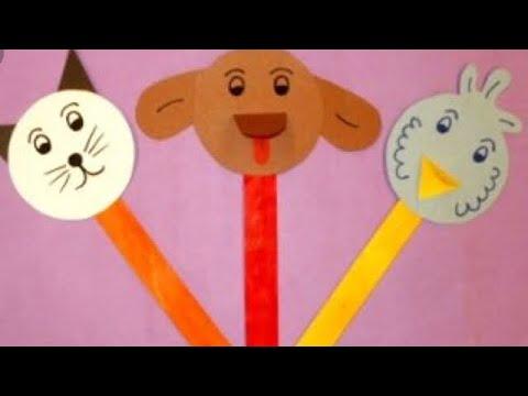 (Diy) Popsticle Stick Puppets