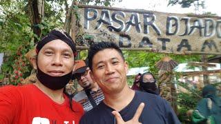 SUASANA KAMPUNG PASAR JADUL DI KOTA BATAM • Acara Pasar Jadoel di Hutan Wisata MataKucing Kota Batam
