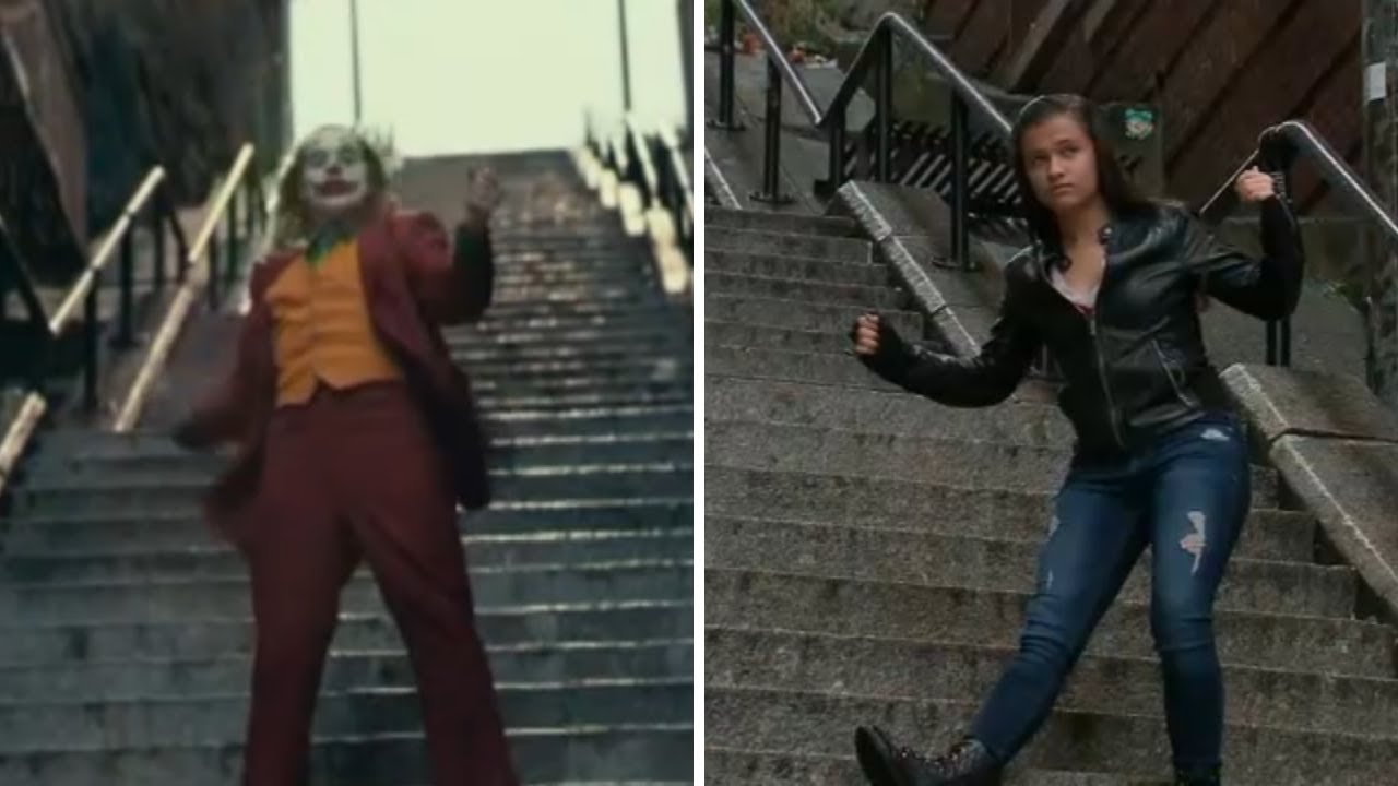 'Joker' stairs in the Bronx attract fans for perfect Instagram picture