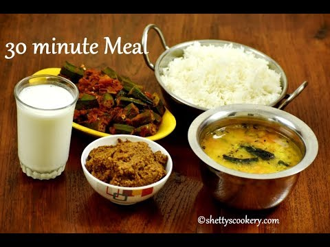 lunch routine | 30 minute simple lunch preparation | Quick lunch ideas | Veg meal preparation