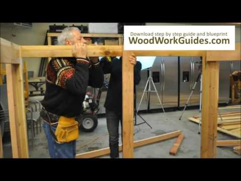 How to Build a FIREWOOD RACK (Easy and cheap)