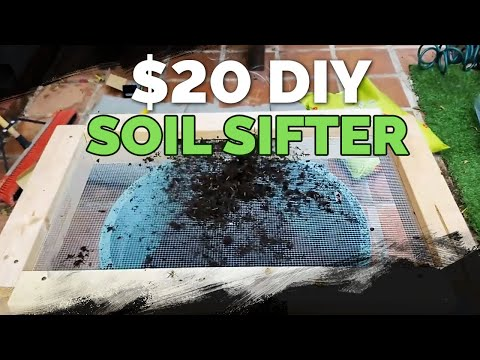 Build a Cheap, DIY Soil Sifter for $20 or Less!