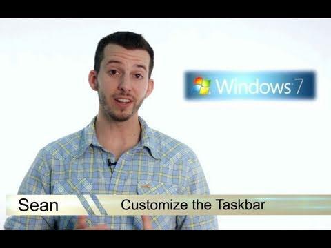 Learn Windows 7 - Customize the Taskbar