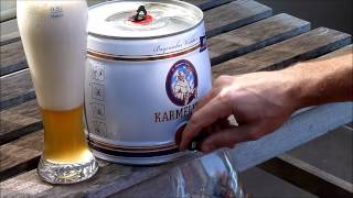 Karmeliter How To Open A Beer Keg And Pour A Perfect Beer