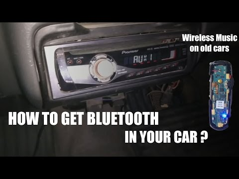 How to make any car Bluetooth using your old Bluetooth headset!
