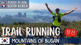 Download Trail Running in Busan, SOUTH KOREA || Jangsan Mountain & Waterfall Temple to Haeundae Beach Video