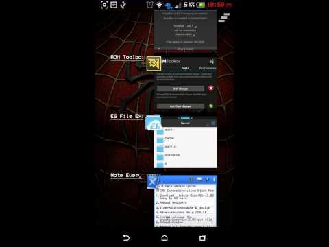 HTC M8 SuperSu Update Binaries