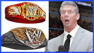 WWE BREAKING NEWS: NEW US TITLE AND IC TITLE COMING TO THE WWE (WWE NEW TITLE DESIGNS)